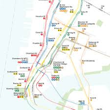 Nyc Subway Map App by A Complete And Geographically Accurate Nyc Subway Track Map