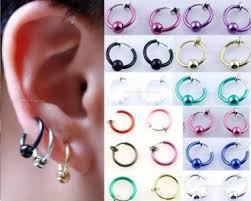magnetic earrings 1 pair magnetic clip on diamente earrings nose studs men women