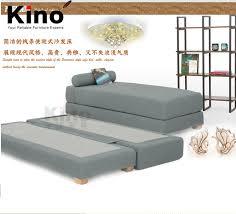 double single solid wood frame fabric foam sofa bed sleeping multi