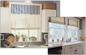 Kitchen Window Covering Ideas Bay Window Blinds Kitchen