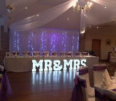 wedding backdrop led 15 best wedding venue dressing by northwest letter lights images