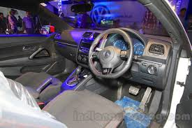 volkswagen touareg interior 2015 vw scirocco interior at the 2015 nada auto show image gallery