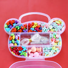 beaded bracelet kit images Bracelet plastic box acrylic bead kit accessories diy toys jewelry jpg