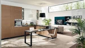 kitchen livingroom neutral open plan kitchen living room interior design ideas