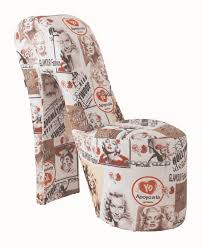 Marilyn Monroe Bedroom Ideas by Stiletto Retro Marilyn Monroe Coloured Print Novelty Chair Sit