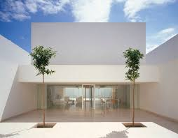 Modern Box House White Box Architecture Modern Design By Moderndesign Org In Spain