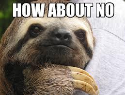 Meme Annoyed - annoyed sloth weknowmemes generator