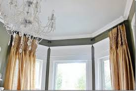 Hanging Drapes From Ceiling How High To Hang Curtains Sawdust