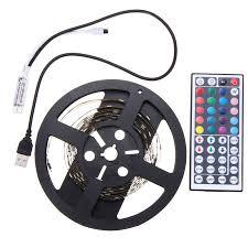 replacing led lights in tv 2pcs 50cm 100cm 5050 usb powered rgb color change led strip computer