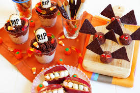 halloween treats get the salty sweet and healthy treatment
