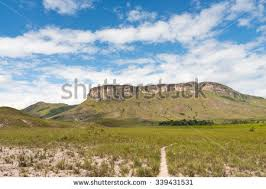 Table Top Mountain by View Chirikayen Tepuy Tabletop Mountain On Stock Photo 339431540