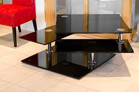 Coffee Tables Black Glass Black Glass Motion Coffee Table Be Fabulous