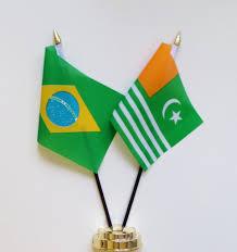 Pakistans Flag Brazil U0026 Pakistan Azad Jammu And Kashmir Friendship Table Flag