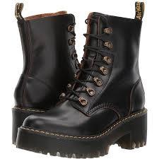womens ugg leona boots dr martens leona 7 hook boot black vintage smooth s shoes