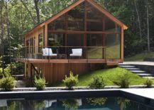 modern cabin design hudson woods sustainable modern cabins offer an escape from nyc