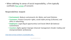 business ethics and social responsibility ppt video online download