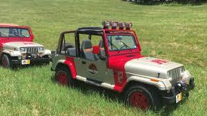 jurassic world jeep jurassic park jeeps youtube