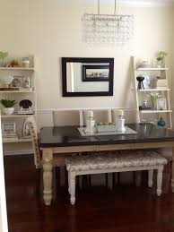 how high should a mirror be hung in a dining room dining room