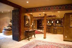 Home Theater Decoration Small Home Theater Decorating Ideas Home Theater Mediterranean