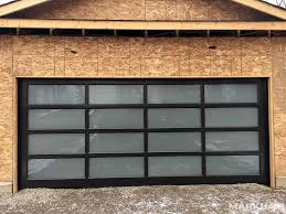 garage glass doors frosted garage door btca info examples doors designs ideas