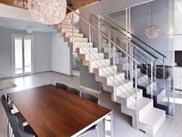 modern stair railing at home cool and modern stair railing