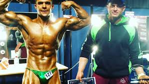 lachlan chisels out wins at bodybuilding titles bega district news