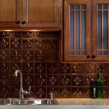 fasade 24 in x 18 in hammered pvc decorative backsplash panel in