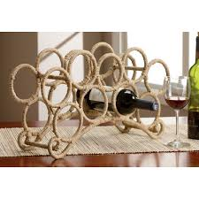 brilliant kindwer 9 bottle tabletop wine rack reviews wayfair
