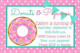 Backyard Birthday Party Invitations She Builds Her Home Donut Birthday Party For Under 150