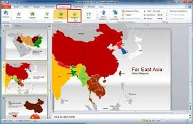 asean powerpoint template asia map template for powerpoint