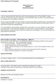 cad manager cover letter