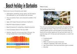 persuasive writing holiday brochure by tesenglish teaching