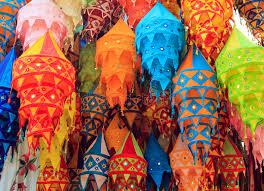 tibet color chandelier stock photography image 30161972