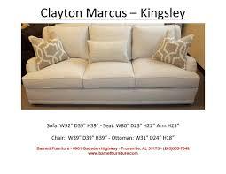 Clayton Marcus Sofas Barnett Furniture Larger Sofas90