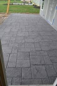 stamped concrete patios driveways u0026 walkways columbus ohio