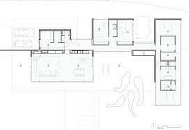 House Plans With Open Floor Plan by One Story Modern House Plans Escortsea Contemporary Open Floor