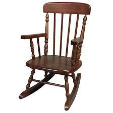 vintage wood rocking chair design home u0026 interior design