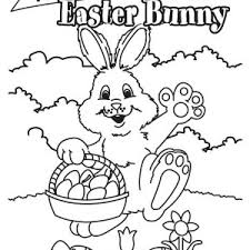 welcome easter bunny coloring page batch coloring