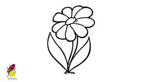 simple flower drawing free download clip art free clip art