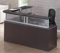U Shaped Reception Desk L Shaped Reception Desk Style Ideas Cool L Shaped Reception Desk