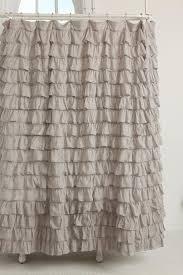 Burlap Ruffled Curtains Rufflens Burlap Ruffled Ombre Showern Panel Cheap Target Priscilla