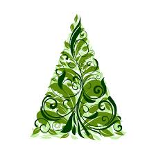 green christmas tree blue and green christmas tree 2 pack by