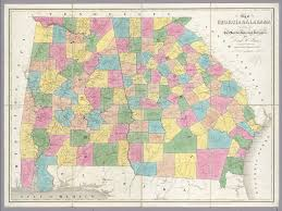 Florida Alabama Map by Of Georgia U0026 Alabama Burr David H 1803 1875 1839