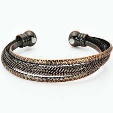 magnetic bracelet with copper images Pure copper torque healing magnetic bracelet for women trr jpg