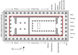 floor plan of the parthenon parthenon floor plan labeled