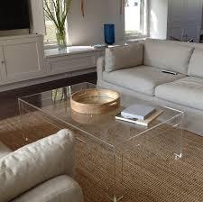 glass shadow box coffee table clear acrylic coffee table white coffee table clear acrylic table