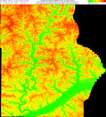 Elevation Map Of Michigan by Free Allamakee County Iowa Topo Maps U0026 Elevations