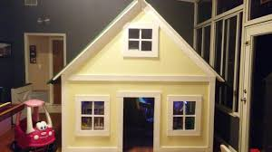 ana white alexandra u0027s indoor playhouse diy projects