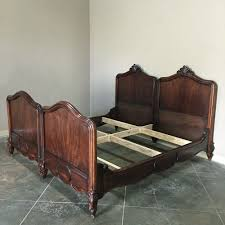 Antique King Bed Frame Antique King Size Louis Philippe Solid Mahogany Bed Circa 1850