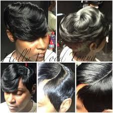 27 pcs hairstyles weaving hair sew n weave my style pinterest hair style shorts and short hair